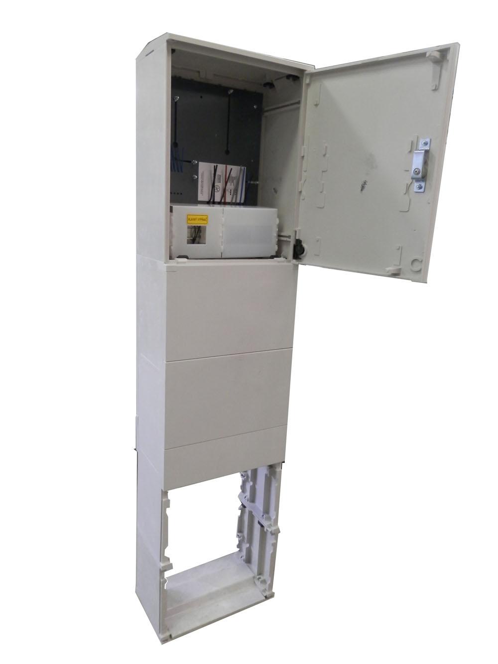 Pilierový elektromerový rozvádzač pre jedného odberateľa