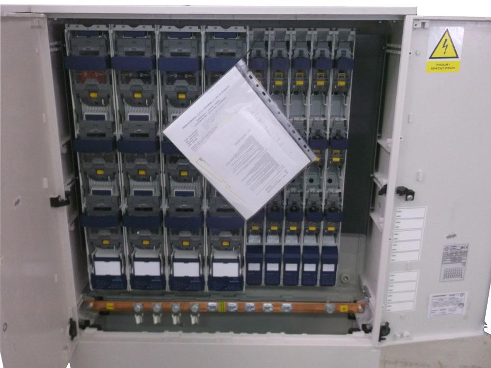 SR s poistkovými odpínačmi P2